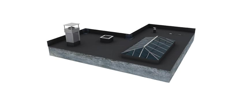 Flexirub  reinventsflat roof waterproofing