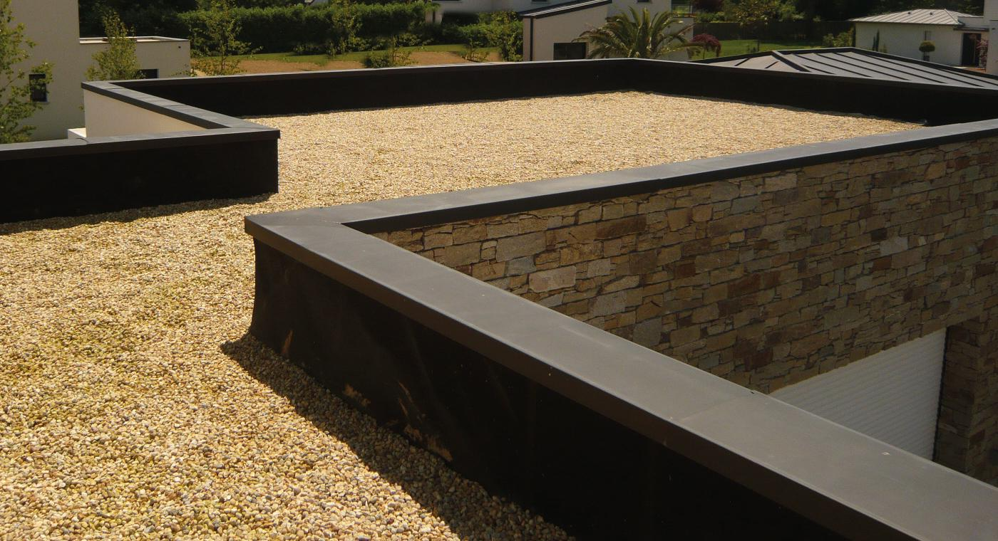 Etancheite toit terrasse goudron etanch it toit terrasse for Toiture plate