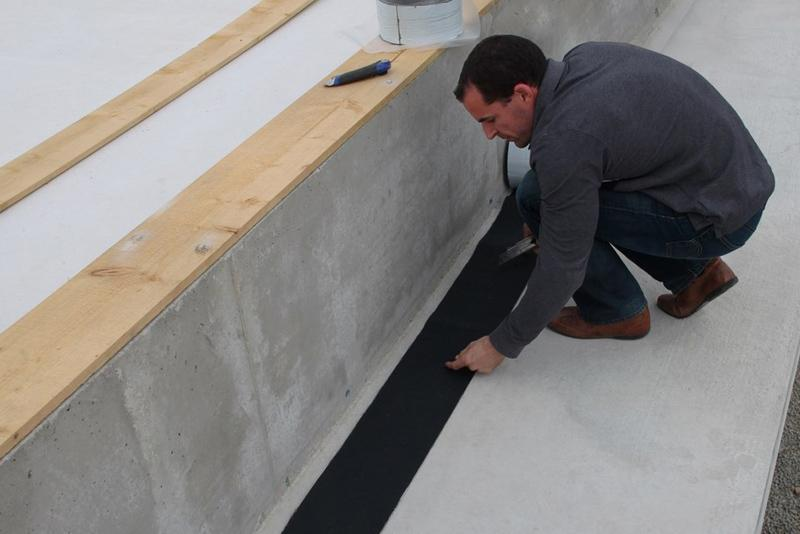 EPDM Strip Installation