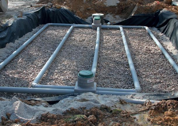 waterproofing for autonomous waste water treatment