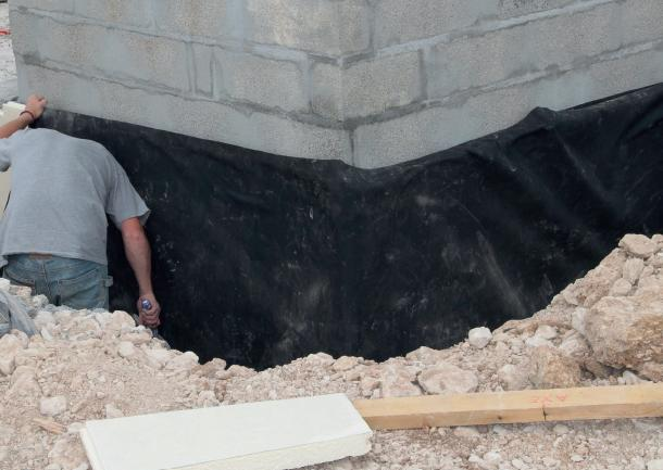 waterproofing for foundations